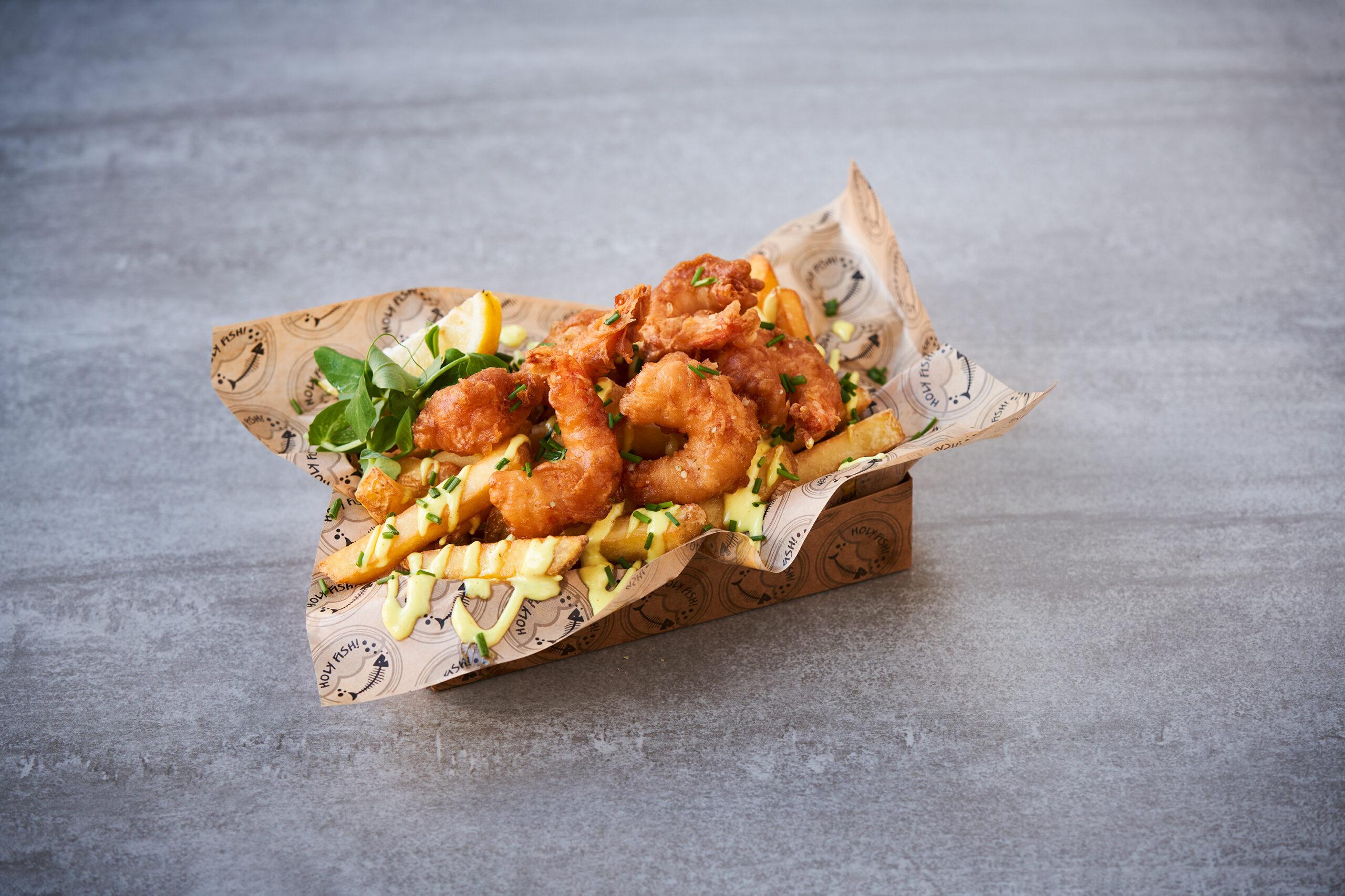 Shrimps 'n' Chips