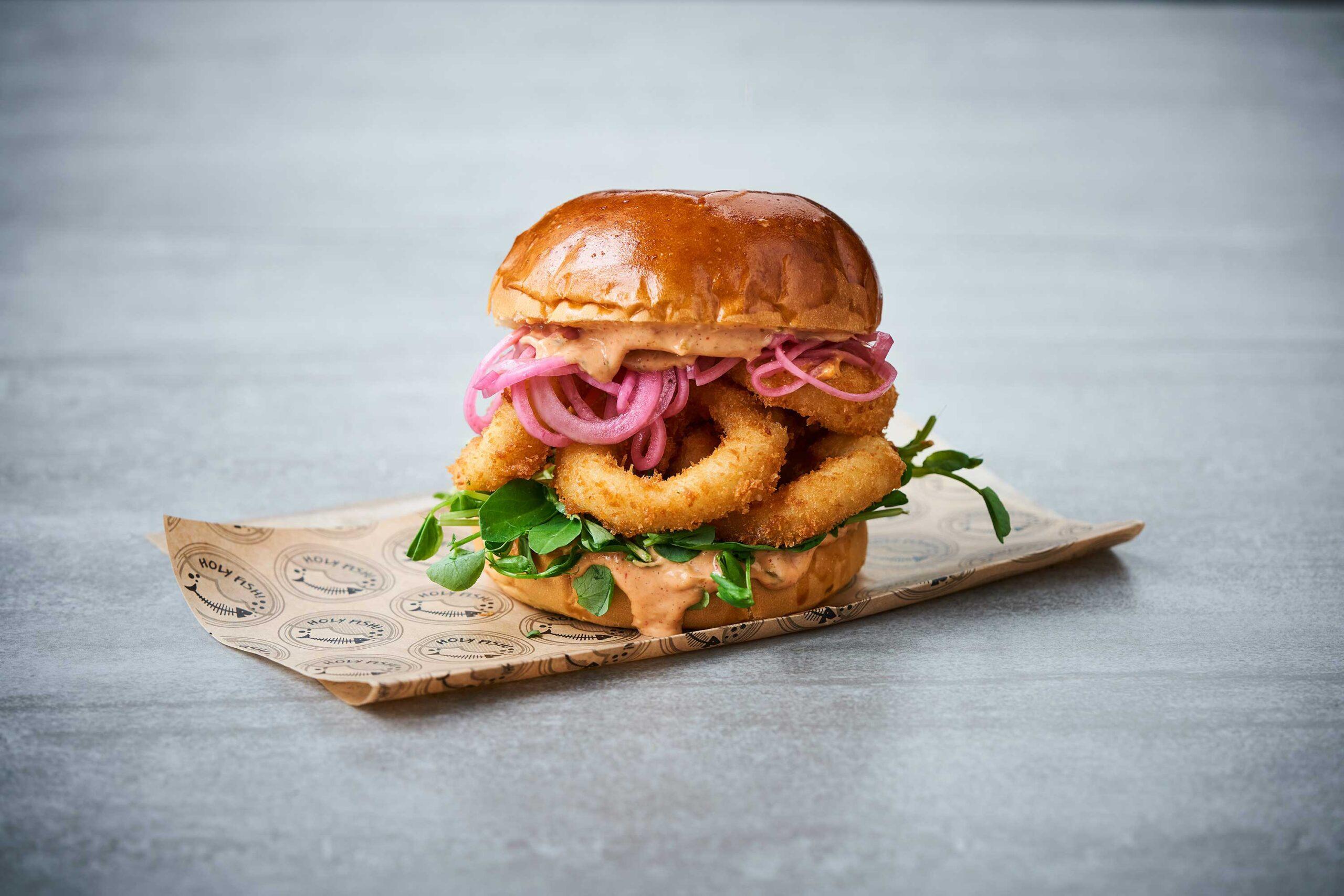 Crispy Squid Sandwich