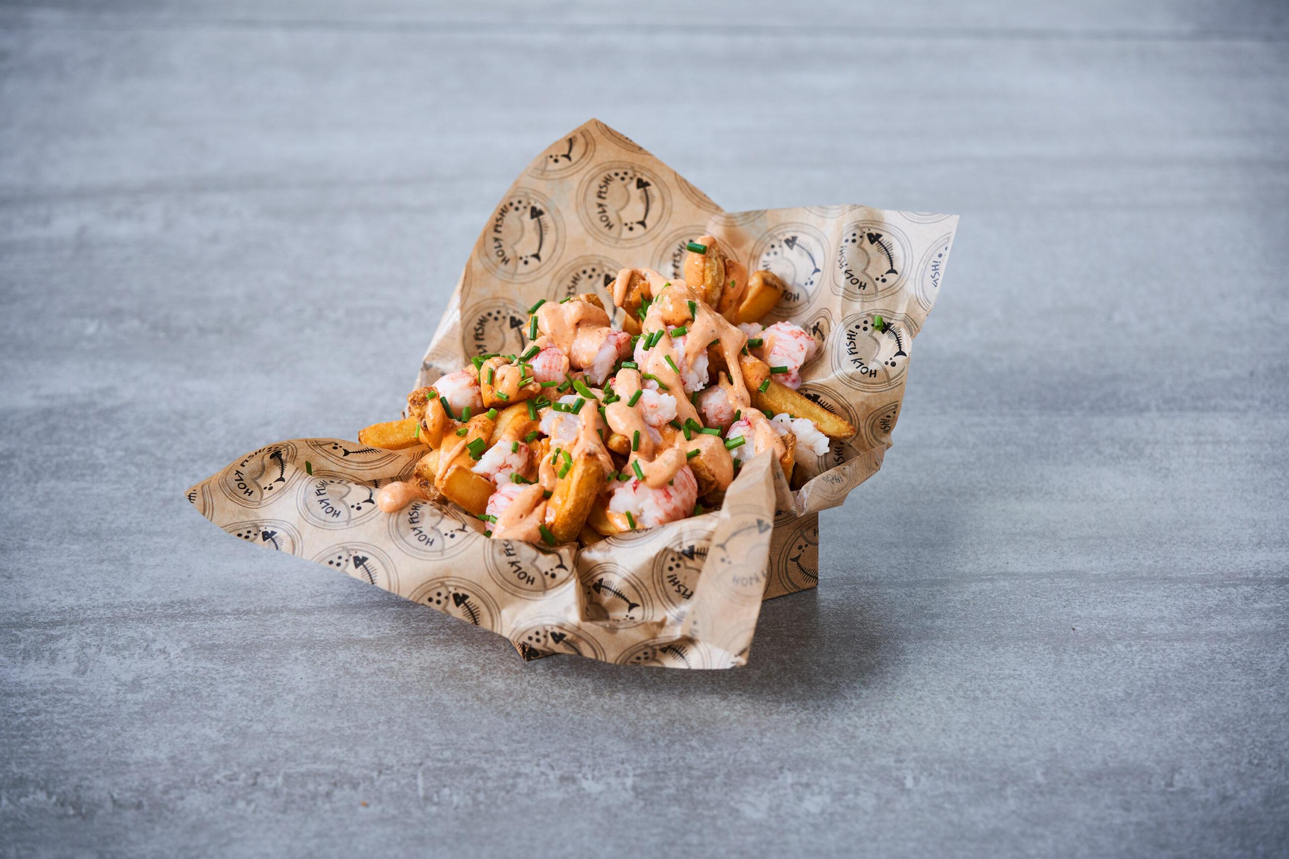 Loaded Lobster Fries